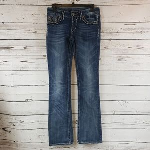 Miss Me Irene Boot Jeans - size 27